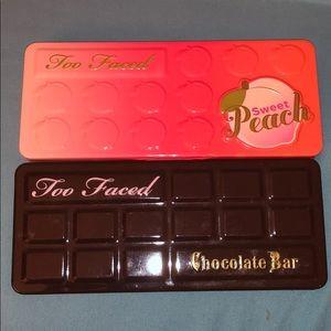 Too Faced Sweet Peach & Chocolate Bar Palette